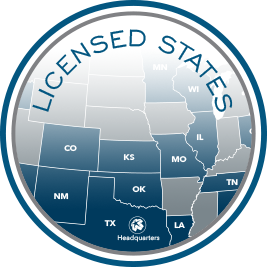 Link to map of licensed states